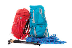 Hiking gear Royalty Free Stock Images