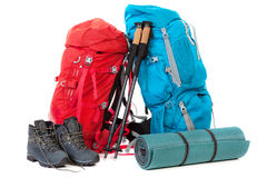 Hiking gear Stock Image