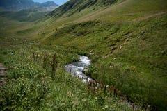 Hiking in Georgia Mountain Royalty Free Stock Photo