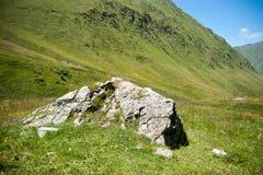 Hiking in Georgia Mountain Royalty Free Stock Image
