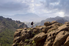 Hiking Gran Canaria royalty free stock photos