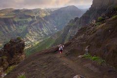 Hiking Gran Canaria Stock Photo