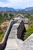 Hiking the Great Wall Stock Photo