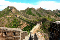 Hiking the Great Wall Stock Photos
