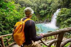 Hike in Costa Rica Royalty Free Stock Photography