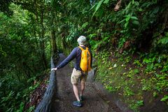 Hike in Costa Rica Stock Photography