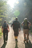 Hiking group Stock Photography