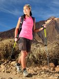 Hiking: Healthy lifestyle woman Royalty Free Stock Photo