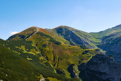 Hiking in the High Tatras mountains Royalty Free Stock Photography