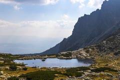 Hiking in High Tatras Mountains Vysoke Tatry, Slovakia royalty free stock photos