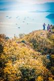 Hiking in Hong Kong, China royalty free stock photography