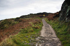 Hiking Howth Royalty Free Stock Image