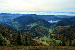 Hiking impressions in the Black Forest in Germany. Hiking through beautiful nature and landscape in the Black Forest in Germany royalty free stock photography