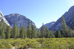 Hiking In Kings Canyon Royalty Free Stock Photo