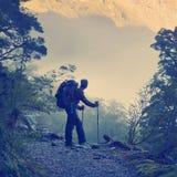 Hiking Instagram Style Stock Photo