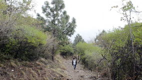Hiking in Islamabad Royalty Free Stock Photos