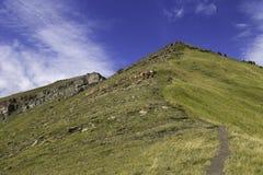Hiking in Kananaskis Country Stock Photo