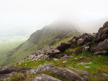 Hiking in kerry, Ireland Royalty Free Stock Photos