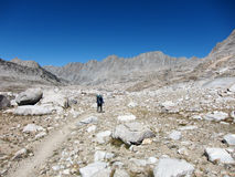 Hiking in Kings Canyon National Park Royalty Free Stock Photography