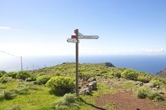 Hiking on La Gomera Royalty Free Stock Photos