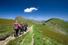 Hiking in Mala Fatra, Slovakia Stock Photo