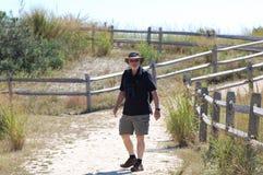 Hiking Man Royalty Free Stock Photo