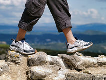 Hiking Stock Photography