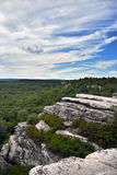 Hiking at Minnewaska State Park. Reserve Upstate NY during summer time Royalty Free Stock Photos