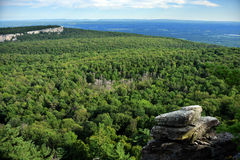 Hiking at Minnewaska State Park. Reserve Upstate NY during summer time Stock Images
