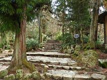 Hiking at Miyajima Island, Hiroshima, Japan Stock Photography