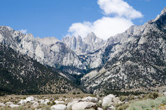 Hiking Mount Whitney Royalty Free Stock Photos