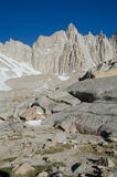 Hiking Mount Whitney Stock Photo