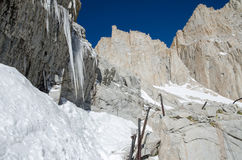 Hiking Mount Whitney Royalty Free Stock Photo