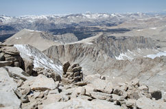 Hiking Mount Whitney Stock Image