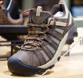 Hiking and mountain boots Royalty Free Stock Photo