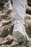 Hiking or Mountaineering Royalty Free Stock Images
