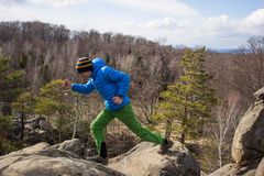 Hiking in the mountains. Stock Photography