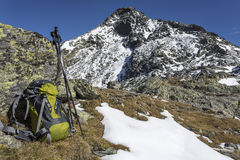 Hiking in Northern Italy, Europe Stock Photography