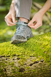 Hiking or Outdoor Walking Concept Royalty Free Stock Images