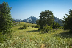 Hiking In Paklenica Velebit Mountains In Croatia Stock Images