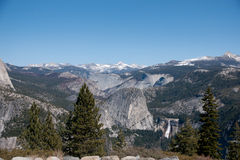 Hiking panaramic train in Yosemite Royalty Free Stock Image