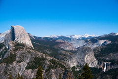 Hiking panaramic train in Yosemite Royalty Free Stock Image