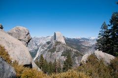 Hiking panaramic train in Yosemite Royalty Free Stock Images