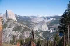 Hiking panaramic train in Yosemite Stock Images