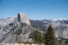 Hiking panaramic train in Yosemite Stock Photos