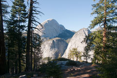 Hiking panaramic train in Yosemite Royalty Free Stock Photo