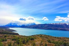 Hiking Patagonia Stock Photos