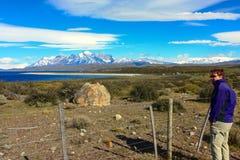 Hiking Patagonia Royalty Free Stock Image