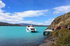 Hiking Patagonia Stock Photography