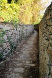Hiking path in Cinque Terre, Italy Royalty Free Stock Photo